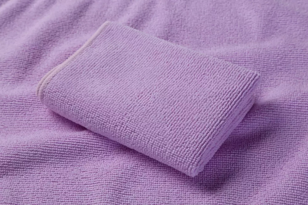 Multicolored Square high quality quick drying and super absorbent towel Car Detailing Cleaning Cloth Microfiber towel