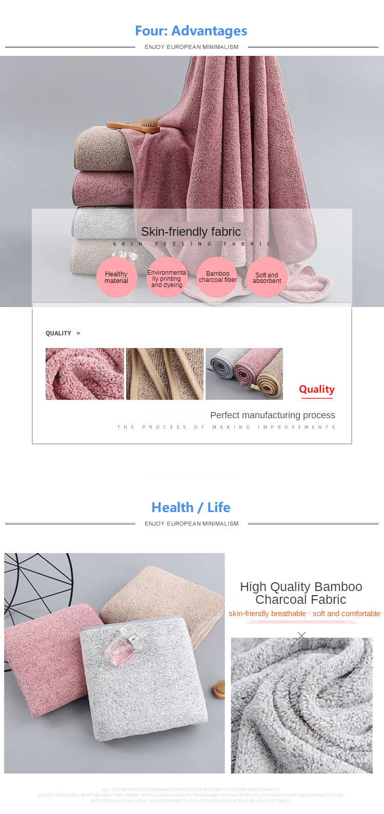 cheap high quality microfiber fabric bath towel  quick drying  hand towel magic cool feel microfiber ice towel