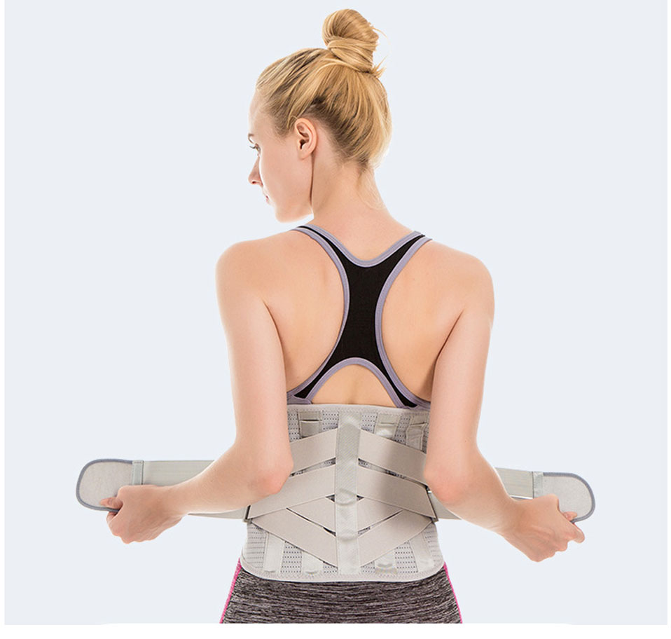 Pain Relief Waist Back Lumbar Spine Brace Men Elastic Fixed Lumbar Support Belt trimmer new indian women fashionable waist