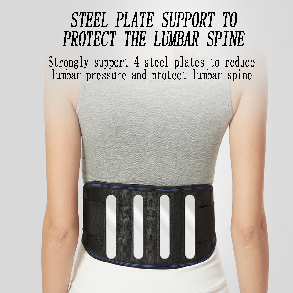 Magnetic Therapy Support Brace Self-Heating  Adjustable Pain Relief Back Waist Support Lumbar Brace Belt