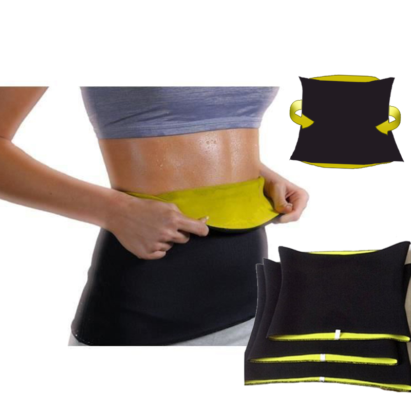 Gym Fitness Sports Exercise Waist Support Pressure Protector Body Shape wear Belt Slim Training Sweat Women Waist support Band